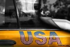 Urban Americana (MY PINK SOAPBOX) Tags: city nyc newyorkcity urban usa ny newyork sign typography manhattan citylife yellowcab americanflag patriotic transportation signage mug americana gothamist gotham redwhiteandblue taxicab yellowtaxi urbanite nyctaxi urbanamericana letterart anahidecanio artyzenstudios