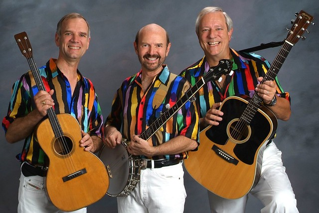 Kingston Trio July 5, 2012 in Ruidoso, NM