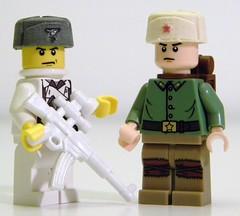 Brick Steel: Ushankas (BrickadirGeneral) Tags: brick lego steel wwii brickarms bricksteel