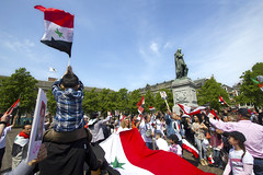 "Syrians rally for Assad • <a style=""font-size:0.8em;"" href=""http://www.flickr.com/photos/45090765@N05/7234824366/"" target=""_blank"">View on Flickr</a>"