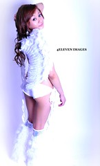 Angel Set w Claudia 1438a (4ELEVEN Images) Tags: portrait white sexy girl beautiful angel 35mm austin photo wings model nikon shoot texas photoshoot unique images mexican claudia filipina gogo brunette lovely combination gogodancer fluffies whiteangel britek d5000 whiteangelwings speedtron 4eleven 4elevenimages