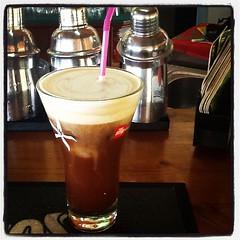 Freddo Cappucino (RobW_) Tags: coffee june square sunday lofi greece squareformat iced freddo cappucino zakynthos 2012 freddiesbar tsilivi iphoneography instagram instagramapp uploaded:by=instagram jun2012 24jun2012