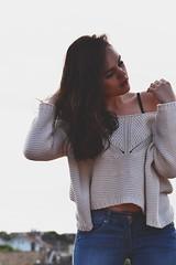 DSC_0634 (Solne Tarrieu) Tags: people france smile photo femme tags passion redlips toit mode sourire douce brune tendresse visage regard douceur hauteur fminit passionne percutant d3100 solnetarrieu