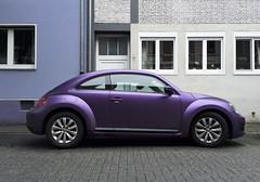 neulich in Ruhrort (jpk.) Tags: beetle vwbeetle iphotography iphone5s unterwegs duisburg ruhrort ©janphilipkopka auto matt mattlack vw