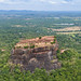 Sigiriya lion rock aerial