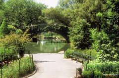 NYC02315 (Henry Westheim Photography) Tags: newyork unitedstates usa centralpark manhattan newyorkcity nyc city urban park green nature trees path bridge water landmark