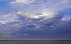 Nubes de invierno (Fotgrafo-robby25) Tags: atardecerenelmarmenor fujifilmxt1 lopagnmurcia marmenor nubes salinasyarenalesdesanpedrodelpinatar
