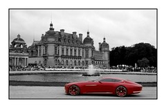 Mercedes Maybach Vision 6 (benduj78) Tags: mercedes maybach vision concept chteau castle chantlly concours lgance red rouge rot rojo rosso selective