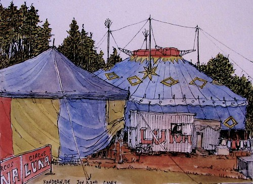 Circus Luna- Kandern, DE