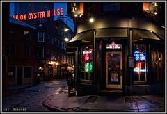 Downton Boston (Jeff_B.) Tags: classic boston bar america downtown neon newengland cobblestone mass littleitaly backbay thepoint thepointe unionoysterhourse