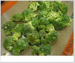 Preparando el brócoli