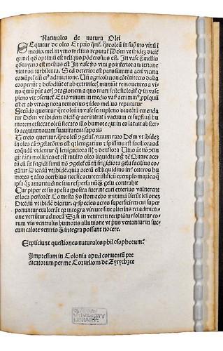 Variant in colophon of Quaestiones naturales antiquorum philosophorum