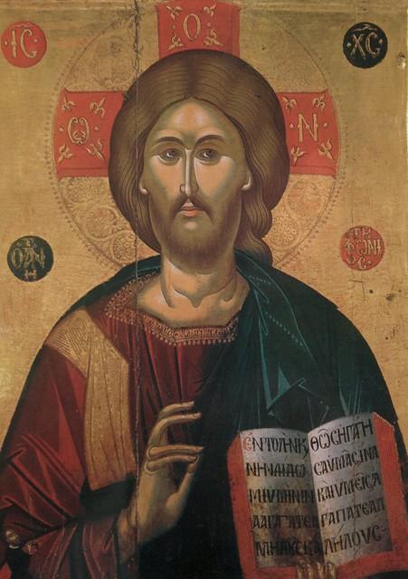 Η εικόνα του Χριστού του Αντιφωνητή στο χωριό Έμπα της Πάφου - The icon of Christ Antiphonitis at the village of Emba in Paphos