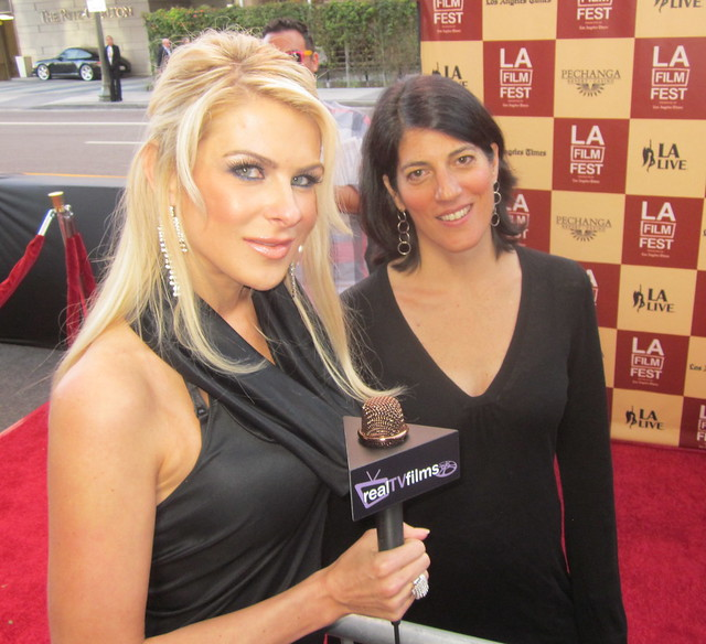 "Linda Goldstein Knowlton, Producer ""Somewhere Between"", Bernie Movie Premiere, Opening Night LA Film Festival 2011"