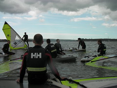 Stag Do Windsurfing Lesson