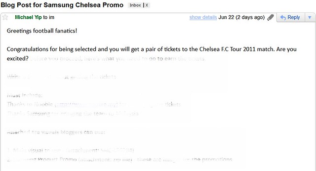 Samsung Bringing In Chelsea