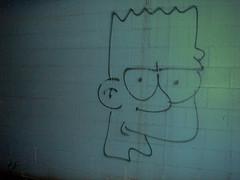 bart (chachacharley) Tags: street art vancouver graffiti yeah bart simpson