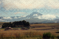 (Joanna Purich) Tags: mountain snow texture peru inca cuzco landscape pattern cusco textile andes weaving andean chinchero