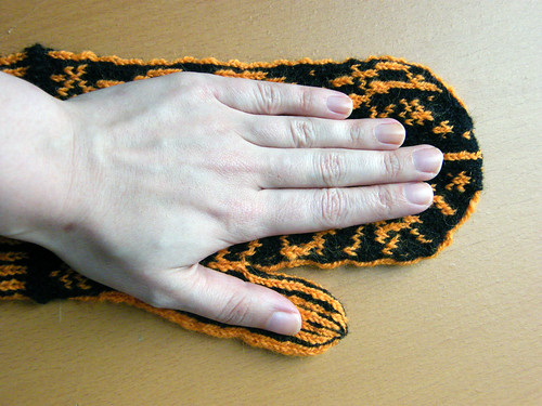 Galileo Mittens - How My Hand Fits Into The Mitten