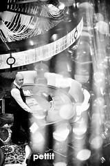 The Dealer Waits (Topher.Pettit) Tags: above canon cosmopolitan lasvegas casino thestrip blackjack dealer aboveview sigma70200mm28 canon5dmkii canon5dmarkii cosmopolitancasino