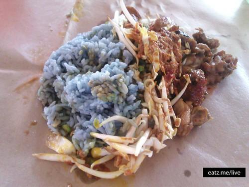 Nasi Kerabu RM2.50 di Medan Selera Stadium Perak by Fadzioriq