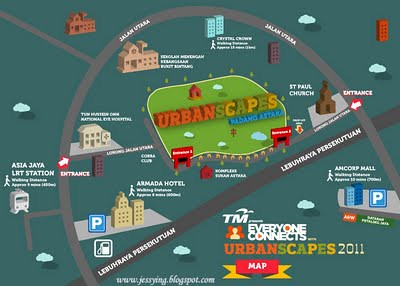 urbanscapes2011 map