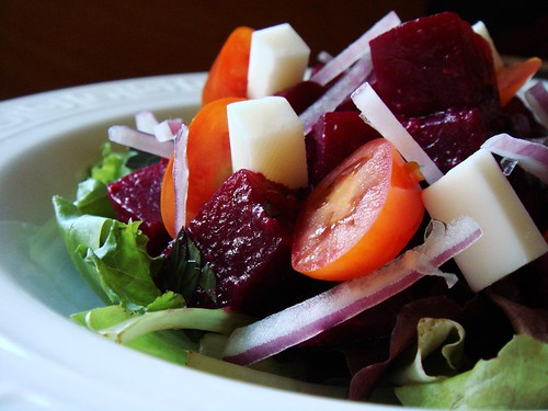 Chunky Beets & Icy Red Onions