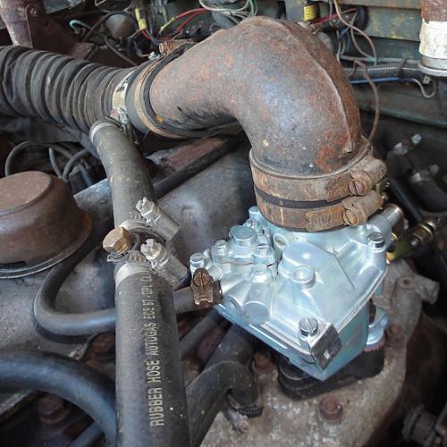 Froggie's new carburettor