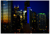 Soft Focus Nocturne (swanksalot) Tags: chicago skyline 50mm availablelight nocturne rivernorth faved swanksalot 42ndward sethanderson