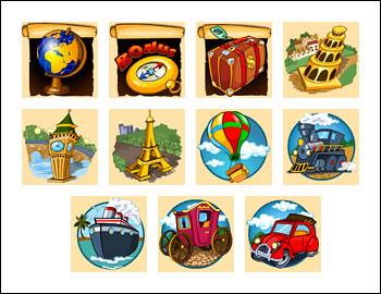 free Voyager's Quest slot game symbols