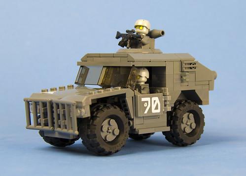 Custom minifig Light Infantry Grid Runner (LIGR) 31