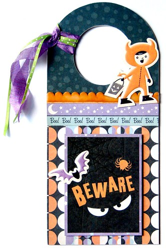 Beware Door Hanger - We R Memory Keepers