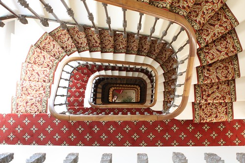 Hotel Staircase in Bordeaux