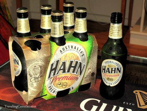 Hahn Premium Lager Sydney Australia