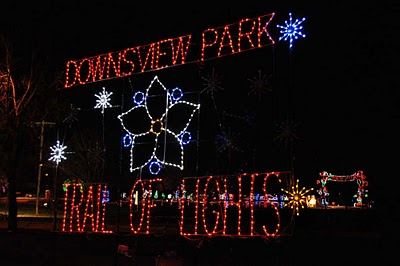 Trail of Lights at Downsview Park