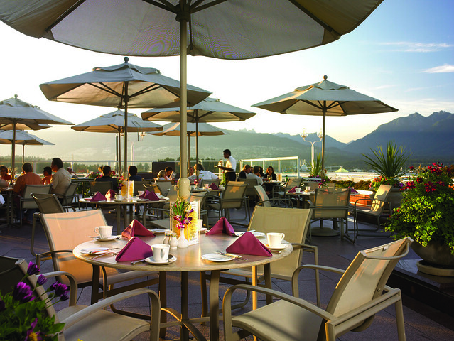 Pan Pacific Vancouver Patio