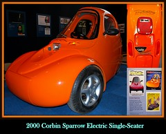 2000 Corbin Sparrow Electric Single-Seater (PictureJohn64) Tags: auto heritage classic car electric museum automobile 2000 driving traffic famous den transport hague collection commercial sparrow transportation historical haag collectie fahrzeug corbin oto historisch verkeer vervoer klassiek  samochd beroemd gravenhage otomobil louwman automobiel singleseater  automoviel klassiesch