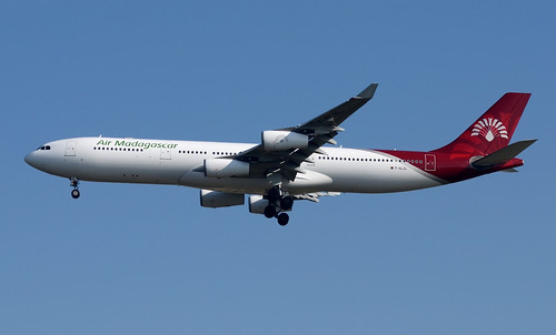 Air Madagascar A340