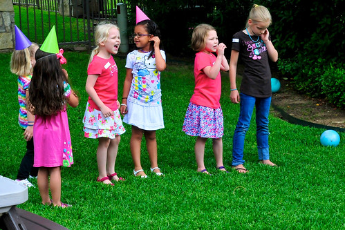 Elizabeth & Anna's combined birthday party, © Steve Webel