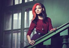 (Mensent Photography) Tags: portrait architecture 50mm is model nikon raw ligth 28 24mm nikkor softbox sb 900 14g a strobist