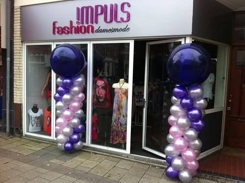 Ballonpilaar Breed Rond Impuls Fashion Rotterdam