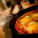Shakshuka with Isla at Home - 9th April 2012