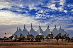 King Fahd International Stadium (TARIQ-M) Tags: sky cloud tree tent palmtree riyadh saudiarabia canonefs1855   canoneos5d       canonef70200mmf4lusm alhilal     canon400d   canonef1635mmf28liiusm canoneos5dmarkii kingfahdstadium kingfahdinternationalstadium