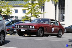 1966 - 1976 Jensen Interceptor Saloon (Georg Sander) Tags: red rot rouge 1966 saloon jensen 1976 interceptor jenseninterceptor