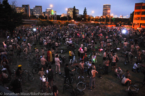 2012 World Naked Bike Ride - Portland-2