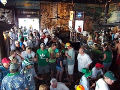 St Patricks Day At The Bull Key West (Roy Richard Llowarch) Tags: k florida keywest floridakeys keywestflorida duvalstreetkeywest thebullkeywest thebullwhistlebarkeywest thebullwhistlegardenofedenkeywest