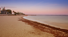 Can Pere Antoni beach (David S.M.) Tags: blue sea beach water canon spain sand europe long nd mallorca palma expossure maditerranean