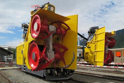 Rhaetian Railway X rot mt 95404