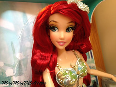DISNEY STORE LIMITED EDITION ARIEL DOLL (MayMayDCollector) Tags: ariel store doll little may disney collection mermaid limited edition comparison purata