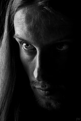 Portrait (Joeywolf42) Tags: portrait bw face look self eyes gesicht sw auge selbstportrait blick selvportrait